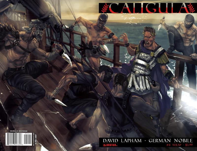 Cover for Caligula (Avatar Press, 2011 series) #4