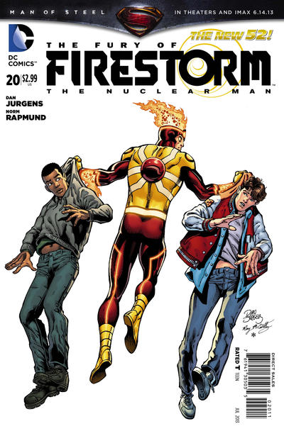 Cover for The Fury of Firestorm: The Nuclear Men (DC, 2011 series) #20