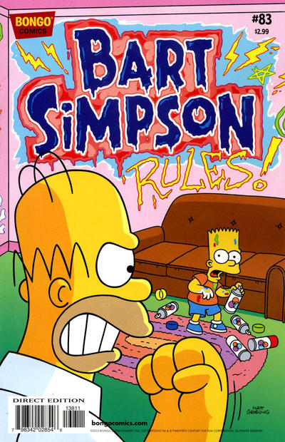 Cover for Simpsons Comics Presents Bart Simpson (Bongo, 2000 series) #83