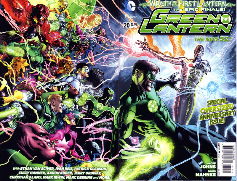 Cover for Green Lantern (DC, 2011 series) #20