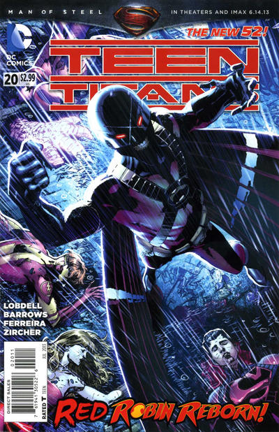 Cover for Teen Titans (DC, 2011 series) #20 [Direct Sales]