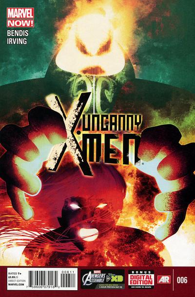 Cover for Uncanny X-Men (Marvel, 2013 series) #6
