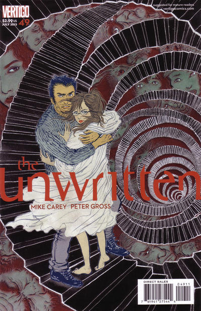 Cover for The Unwritten (DC, 2009 series) #49
