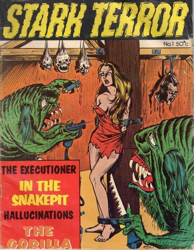 Cover for Stark Terror (Yaffa / Page, 1976 ? series) #1