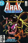 Cover for Arak / Son of Thunder (DC, 1981 series) #42 [Direct]