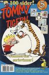 Cover for Tommy og Tigern (Bladkompaniet / Schibsted, 1989 series) #7/2002