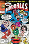Cover for Madballs (Marvel, 1986 series) #3 [2nd Printing]