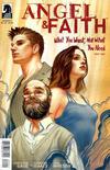 Cover for Angel & Faith (Dark Horse, 2011 series) #22 [Steve Morris Cover]