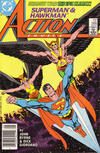 Cover Thumbnail for Action Comics (1938 series) #588 [Newsstand]
