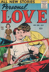 Cover for Personal Love (Prize, 1957 series) #v1#2