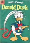 Cover for Walt Disney's Donald Duck (Dell, 1952 series) #60 [15¢]