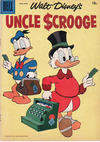 Cover for Walt Disney's Uncle Scrooge (Dell, 1953 series) #22 [15¢]