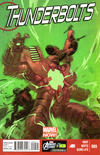 Cover for Thunderbolts (Marvel, 2013 series) #9