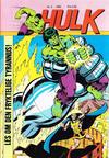 Cover for Hulk (Atlantic Forlag, 1980 series) #3/1982