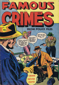 Cover Thumbnail for Famous Crimes (Superior Publishers Limited, 1949 series) #10