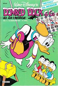 Cover Thumbnail for Donald Duck & Co (Hjemmet / Egmont, 1948 series) #7/1988