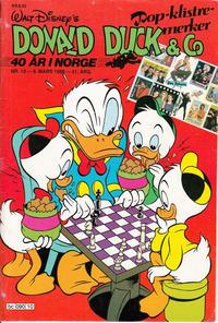Cover Thumbnail for Donald Duck & Co (Hjemmet / Egmont, 1948 series) #10/1988