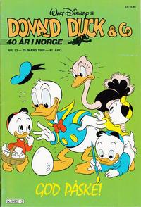 Cover Thumbnail for Donald Duck & Co (Hjemmet / Egmont, 1948 series) #13/1988