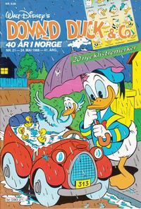 Cover Thumbnail for Donald Duck & Co (Hjemmet / Egmont, 1948 series) #21/1988