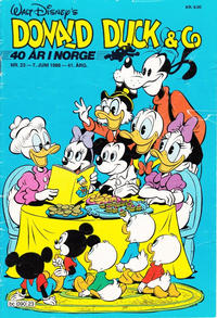 Cover Thumbnail for Donald Duck & Co (Hjemmet / Egmont, 1948 series) #23/1988