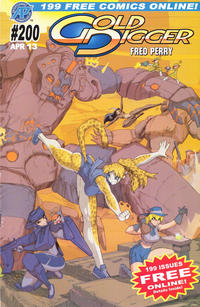 Cover Thumbnail for Gold Digger (Antarctic Press, 1999 series) #200