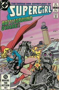 Cover Thumbnail for The Daring New Adventures of Supergirl (DC, 1982 series) #6 [Direct-Sales]