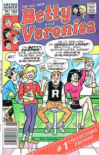 Cover Thumbnail for Betty and Veronica (Archie, 1987 series) #1 [Canadian]