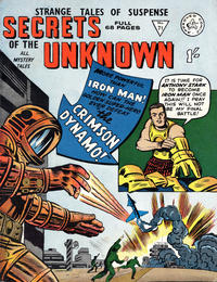 Cover Thumbnail for Secrets of the Unknown (Alan Class, 1962 series) #71