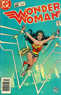 Cover Thumbnail for Wonder Woman (DC, 1942 series) #302 [Newsstand]