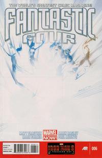 Cover Thumbnail for Fantastic Four (Marvel, 2013 series) #6