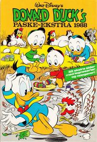 Cover for Donald Duck & Co Ekstra [Bilag til Donald Duck & Co] (Hjemmet / Egmont, 1985 series) #påske 1988
