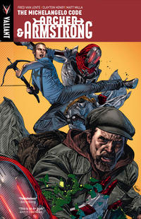 Cover Thumbnail for Archer & Armstrong (Valiant Entertainment, 2013 series) #1 - The Michelangelo Code