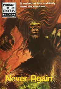 Cover Thumbnail for Pocket Chiller Library (Thorpe & Porter, 1971 series) #108