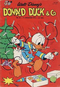 Cover Thumbnail for Donald Duck & Co (Hjemmet / Egmont, 1948 series) #50/1973