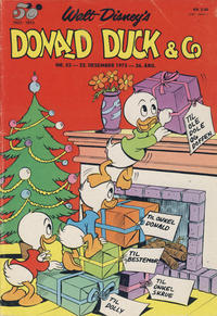 Cover Thumbnail for Donald Duck & Co (Hjemmet / Egmont, 1948 series) #52/1973