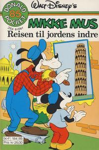 Cover Thumbnail for Donald Pocket (Hjemmet / Egmont, 1968 series) #85 - Mikke Mus Reisen til jordens indre [1. opplag]