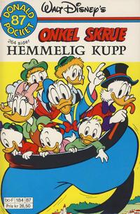 Cover Thumbnail for Donald Pocket (Hjemmet / Egmont, 1968 series) #87 - Onkel Skrue Hemmelig kupp [1. opplag]