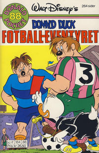 Cover Thumbnail for Donald Pocket (Hjemmet / Egmont, 1968 series) #88 - Donald Duck Fotball-eventyret [1. opplag]