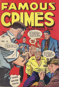 Cover Thumbnail for Famous Crimes (Superior Publishers Limited, 1949 series) #9