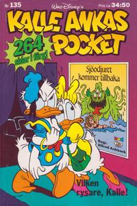 Cover Thumbnail for Kalle Ankas pocket (Serieförlaget [1980-talet]; Hemmets Journal, 1986 series) #135 - Vilken rysare, Kalle!