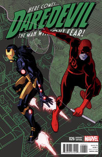 Cover Thumbnail for Daredevil (Marvel, 2011 series) #26 [Variant Cover by Paolo Rivera]