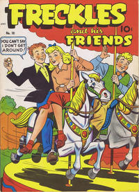 Cover Thumbnail for Freckles and His Friends (Better Publications of Canada, 1949 series) #10