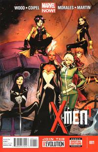 Cover Thumbnail for X-Men (Marvel, 2013 series) #1 [Olivier Coipel Cover]