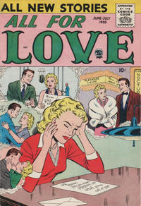 Cover Thumbnail for All for Love (Prize, 1957 series) #v3#1 [14]