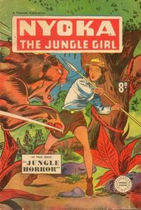 Cover Thumbnail for Nyoka the Jungle Girl (Cleland, 1949 series) #36