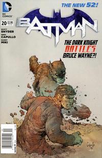 Cover Thumbnail for Batman (DC, 2011 series) #20 [Newsstand]