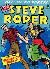Cover Thumbnail for Steve Roper (Trans-Tasman Magazines, 1959 ? series) #3