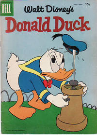 Cover Thumbnail for Donald Duck (Dell, 1952 series) #59 [15¢]