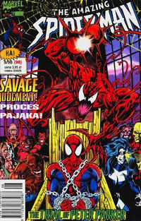 Cover Thumbnail for The Amazing Spider-Man (TM-Semic, 1990 series) #8/1998