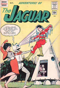 Cover Thumbnail for Adventures of the Jaguar (Archie, 1961 series) #9 [15¢]